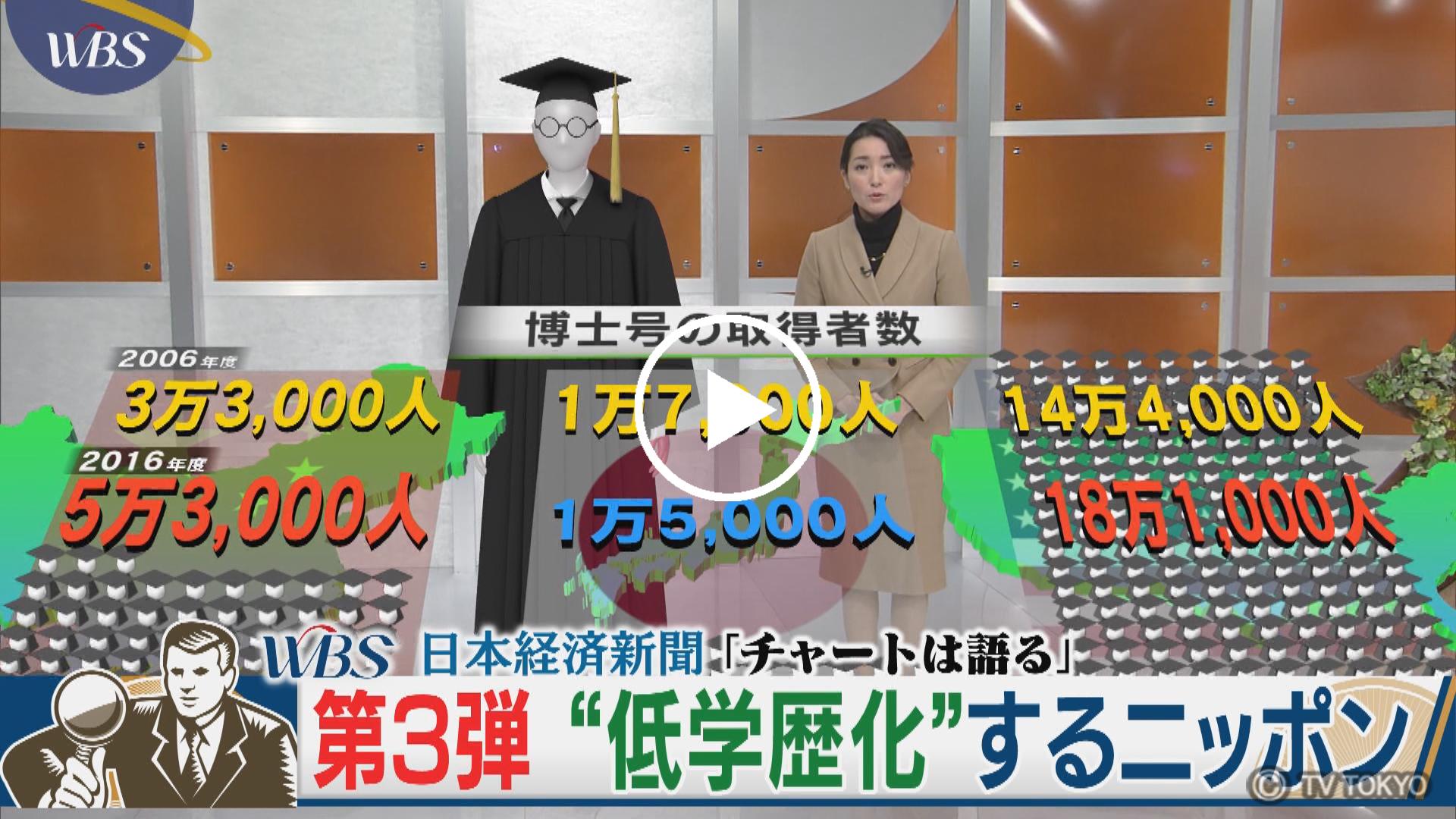 """""""低学歴化""""するニッポン"""