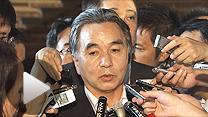 後任の復興相に決まった平野達男内閣府副大臣(5日午後)