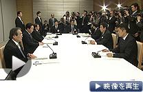大飯原発の再稼働問題で野田首相と関係3閣僚が初協議(3日夜)