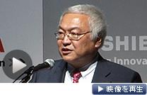 テレビ国内生産停止について佐々木社長は「じくじたるものはある」と述べた