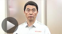 松本氏の復興相辞任について話す宮城県の村井嘉浩知事(5日)