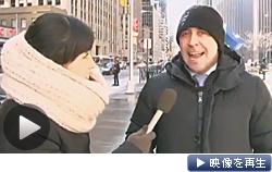 「ヤンキースに優勝を」。田中投手の入団にニューヨーク市民は興奮(テレビ東京)