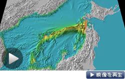 日本海の大地震、津波最大23メートルに。政府が初の想定